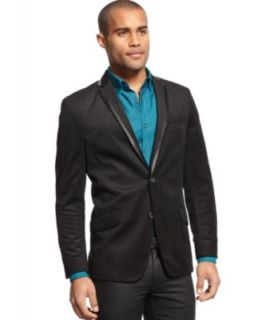 Kenneth Cole Reaction Velvet Military Sportcoat   Blazers & Sport Coats   Men
