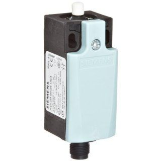 Siemens 3SE5 234 0HC05 1AC4 International Limit Switch Complete Unit, Plastic Enclosure, 31mm Width, Rounded Plunger, M12 Connector Socket, 4 Pole, Snap Action Contacts, Integrated, 1 NO + 1 NC Contacts Electronic Component Limit Switches Industrial &