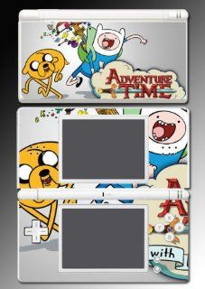 Adventure Time Jake Finn Fionna Marceline Cake Cartoon Movie Video Game Vinyl Decal Skin Protector Cover for Nintendo DS Lite Video Games