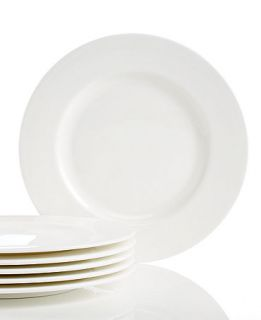 Lenox Classic White Bone China Set of 6 Salad Plates   Fine China   Dining & Entertaining