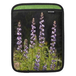 Mountain Lupine Design iPad Laptop Sleeve Sleeves For iPads
