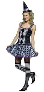 Spelladonna Purple Diamond Witch Costume   Womens 4 10 Clothing