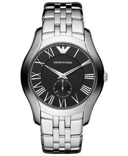 Emporio Armani Watch, Mens Stainless Steel Bracelet 43mm AR1706   Watches   Jewelry & Watches