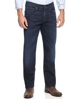 7 For All Mankind Luxe Performance Carsen Easy Straight Leg Jeans, Blue Ice   Jeans   Men