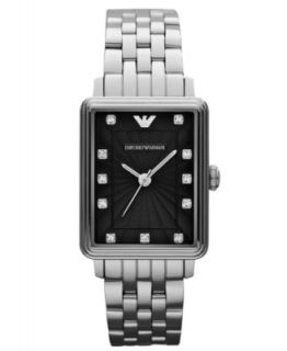 Emporio Armani Watch, Mens Stainless Steel Bracelet 39x32mm AR1608   Watches   Jewelry & Watches