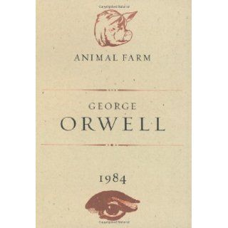 Animal Farm and 1984 by George Orwell (1st (first) Edition) [Hardcover(2003)] George Orwell Books