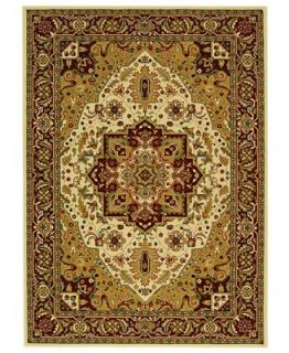 MANUFACTURERS CLOSEOUT Safavieh Area Rug, Lyndhurst LNH330A Ivory/Red 3 3 x 5 3   Rugs
