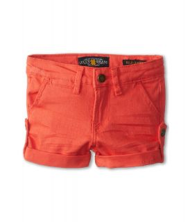 Lucky Brand Kids Washed Twill Short Girls Shorts (Red)