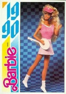 Barbie and the All Stars (3) trading card (1990) 1991 Panini Another First for Barbie #189 Entertainment Collectibles