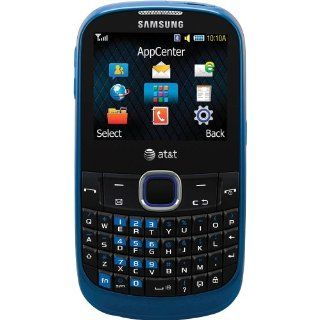 Samsung A187 Unlocked Phone with QWERTY Keyboard, 1.3 MP Camera, Music Player and Speakerphone   Unlocked Phone   US Warranty   Blue Cell Phones & Accessories