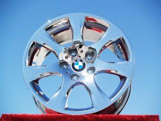 BMW 335iStyle 185 Set of 4 genuine factory 17inch chrome wheels Automotive