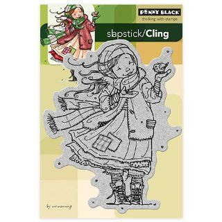 Penny Black 40 178 Gift of Love Cling Rubber Stamp