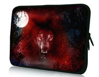 "Red Wolf 7''inch Soft Sleeve Bag Case Cover Pouch for Asus Memo Pad Me172v 7"" Tablet Pc Reader Mid Android Computers & Accessories"