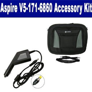 Acer Aspire V5 171 6860 Laptop Accessory Kit includes SDA 3553 Car Adapter, SDC 32 Case Computers & Accessories
