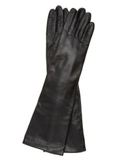 Charter Club Long Leather Gloves   Handbags & Accessories