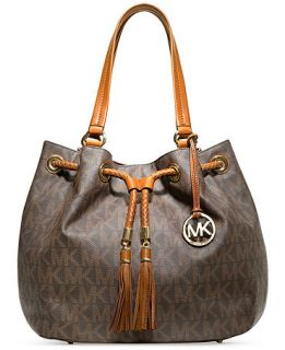 MICHAEL Michael Kors Jet Set Item Large Signature Tote   Handbags & Accessories