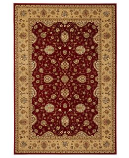 MANUFACTURERS CLOSEOUT Safavieh Area Rug, Majesty MAJ4782 4015 Red/Camel 23 x 8 Runner Rug   Rugs