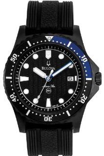 Bulova 98B159 Mens Marine Star Black Watch Watches