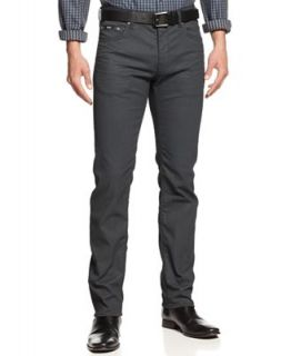 BOSS HUGO BOSS Maine Straight Leg Jeans, Charcoal Wash   Jeans   Men