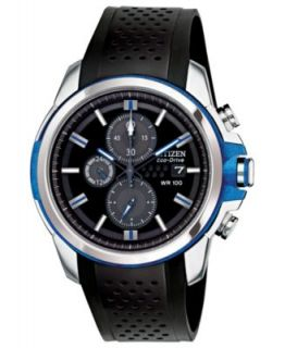 Citizen Mens Eco Drive Promaster Diver Black Rubber Strap Watch 47mm BN0085 01E   Watches   Jewelry & Watches