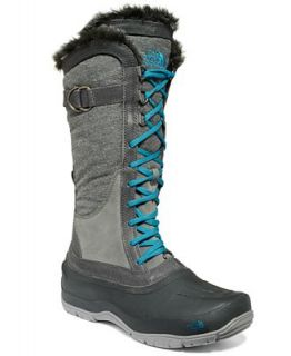 The North Face Womens Shellista Lace Luxe Faux Fur Boots   Shoes