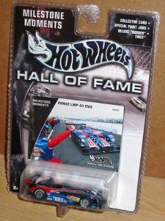 Mattel Hot Wheels 2002 Hall Of Fame 164 Scale 35th Anniversary Red & Blue Panoz LMP 01 EVO Die Cast Car Toys & Games