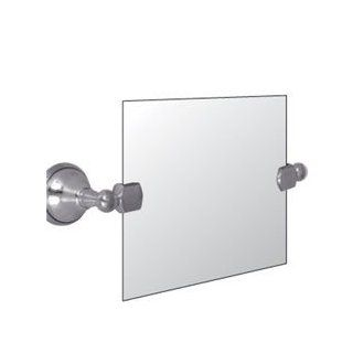 "Watermark Designs 140 0.9D Polished Chrome Bathroom Accessories 24"" Square Swivel Mirror"