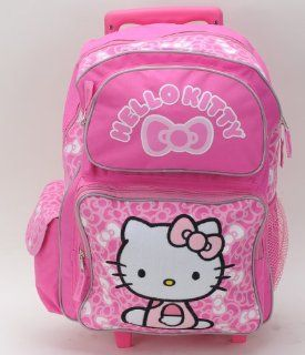 New Arrival Sanrio Hello Kitty Small Rolling Backpack and Hello Kitty Toothbrush Set Toys & Games