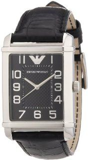 Emporio Armani Women's AR0363 Classic Black Dial and Strap Watch at  Women's Watch store.