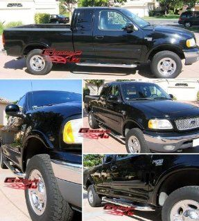 97 03 F150/250 LD Super Cab S/S Side Step Nerf Bars Running Boards Automotive
