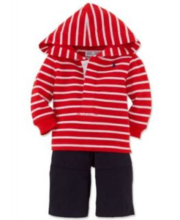 Ralph Lauren Baby Set, Baby Boys 2 Piece Hoodie and Pants   Kids