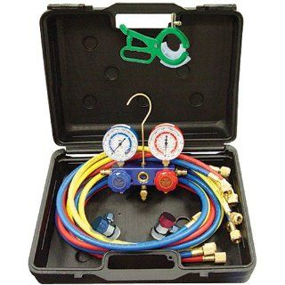 "A/C Manifold Gauge Set Alum 60"" R12/R134A Manua Automotive"