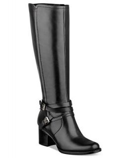 Tommy Hilfiger Gerdie Mid Heel Tall Boots   Shoes