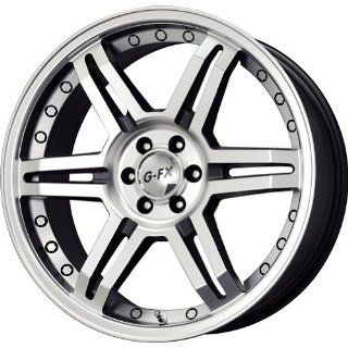 "G FX OR 7 Matte Black Machined Wheel (17x8.5""/6x132mm) Automotive"