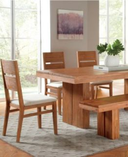 Champagne Dining Room Furniture, 7 Piece Set (Dining Table and 6 Side Chairs)   Furniture