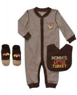 Carters Baby Set, Baby Boys Mommys Little Turkey Thanksgiving 3 Piece Set   Kids