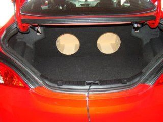 "Zenclosures 2013 2014 Hyundai Genesis Coupe 2 10"" Subwoofer Box  Vehicle Subwoofer Boxes"