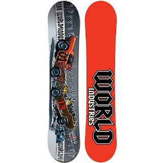 World Industries Demo Derby Snowboard   152 cm  Freestyle Snowboards  Sports & Outdoors