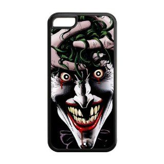 Custom Batman Back Cover Case for iPhone 5C LLCC 119 Cell Phones & Accessories