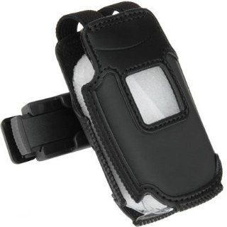 PCMICROSTORE Brand Samsung SGH A117 A117 Black Neoprene Case Cover with Removable Belt Clip Cell Phones & Accessories