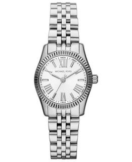 Michael Kors Womens Petite Lexington Stainless Steel Bracelet Watch 26mm MK3228   Watches   Jewelry & Watches