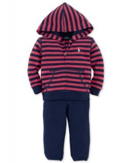 Ralph Lauren Baby Set, Baby Boys 2 Piece Hoodie & Pants   Kids