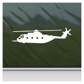 Hh 3 Jolly Green Giant Helicopter White Sticker Decal Car Window Wall Macbook Notebook Laptop Sticker Decal Automotive