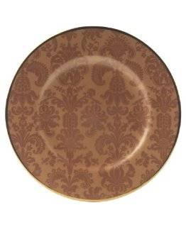 "Mikasa MN251 102 Damask Copper 8"" Accent Plate Kitchen & Dining"