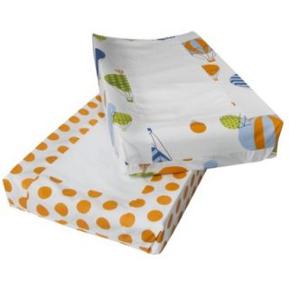 Room 365™ Hot Air Balloon 2pk Changing Pad Cover