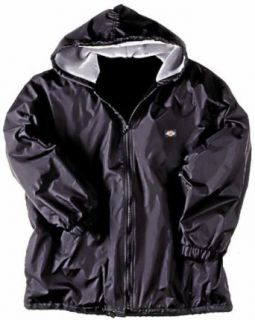 Dickies 33 237 Fleece Lined Hooded Nylon Jacket at  Men�s Clothing store