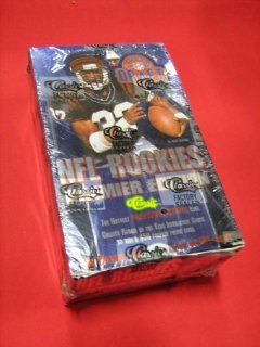 1995 NFL Draft Football Trading Cards   Box (36 packs   10 cards per pack)   NFL Rookies Premier Edition   CLASSIC The Official Trading Card Of The NFL Draft Toys & Games