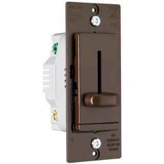 Legrand LSDH16V TradeMaster 1.6Amp Decorator Four Speed Fan Control in Brown   Dimmer Switches