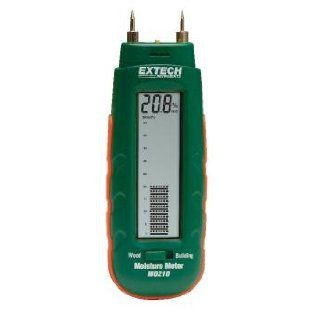 Extech MO210 Pocket Size Moisture Meter with 2 in 1 Digital LCD Readout and Analog Bargraph   Wood Moisture Meter