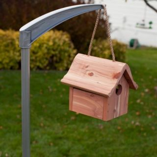 Perky Pet Universal Bird Feeder & Bird House Pole Patio & Outdoor Decor